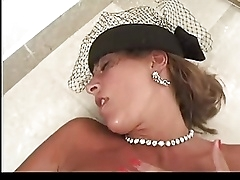 Сперма на лицо